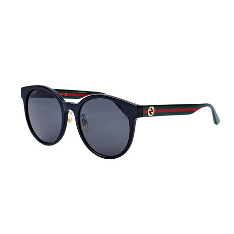 Men's Sylvie & Web Round Sunglasses // Green