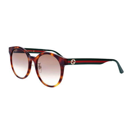 Men's Sylvie + Web Round Sunglasses // Brown