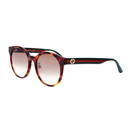 Men's Sylvie & Web Round Sunglasses // Brown