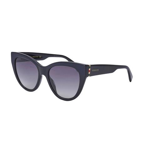 Women's Sylvie & Web Oversized Cat-Eye Sunglasses // Black