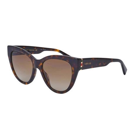 Women's Sylvie & Web Oversized Cat-Eye Sunglasses // Brown