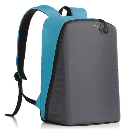 Pix Smart Urban Backpack // Cyan (Customizable Screen)