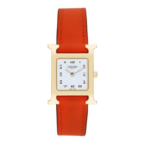 Hermes Ladies H Watch Quartz // Pre-Owned