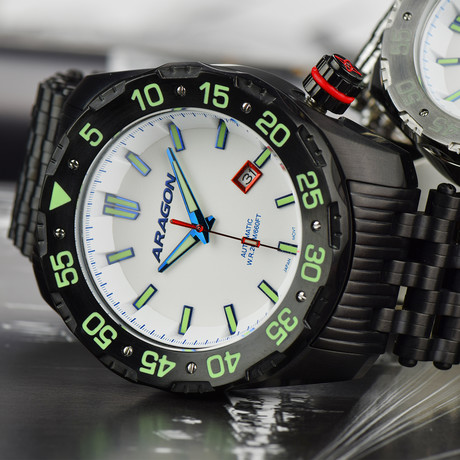 Aragon Sea Charger Automatic // A083WHT