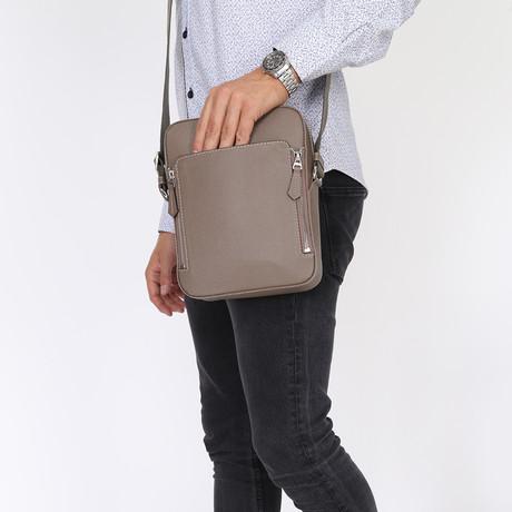 Antonie Messenger Bag // Beige