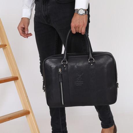Vitalia Briefcase // Black