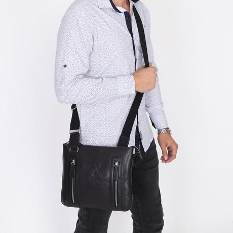 Keops Messenger Bag // Black