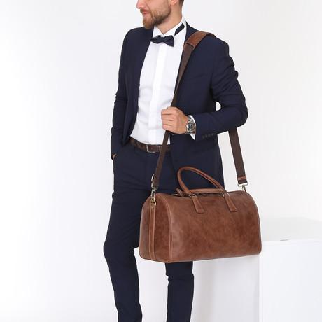 Nevo Travel Tote Bag // Brown