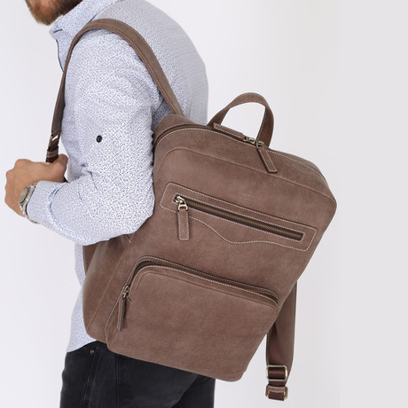 Eames Backpack // Brown