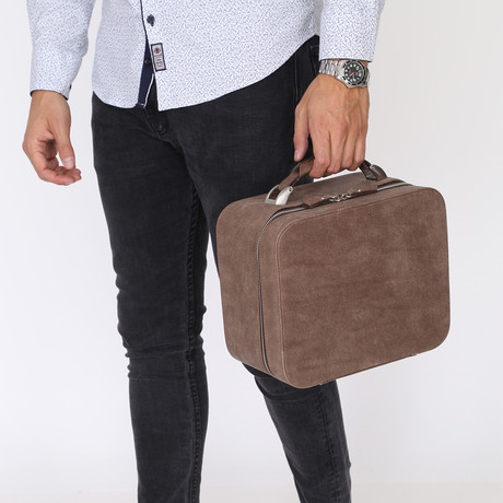 Doctor Handbag // Brown