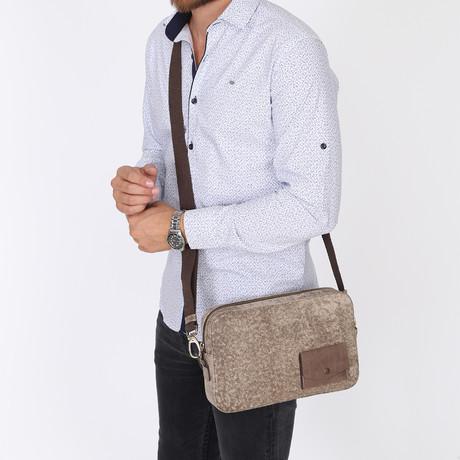 Excellent Messenger Bag // Beige-Brown