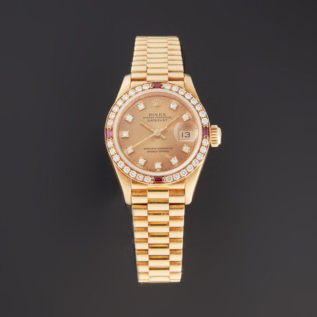 Rolex Ladies Datejust Automatic // 69068G // E Serial // Pre-Owned
