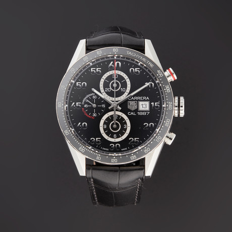 Tag Heuer Carrera Chronograph Automatic // CAR2A10-1 // Pre-Owned