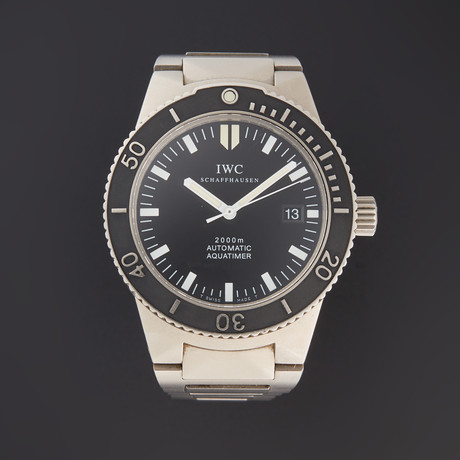 IWC Aquatimer Automatic // IW353601 // Pre-Owned