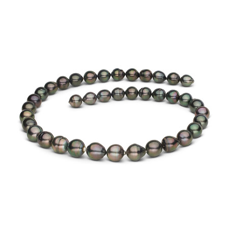"18"" Baroque Tahitian Pearl Necklace // 8.2-10.7mm AA+ (14K White Gold Clasp)"