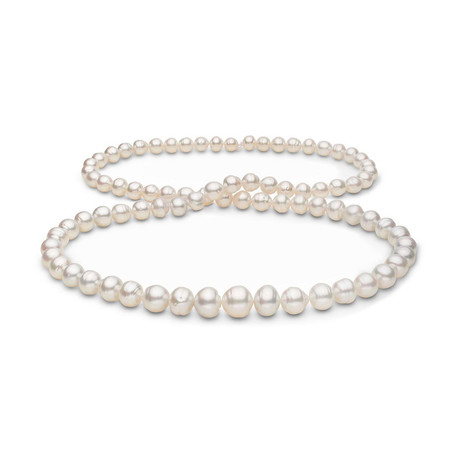 "32"" Baroque South Sea Pearl Necklace // 8.34-13.75mm AA+/AAA (14K White Gold Clasp)"