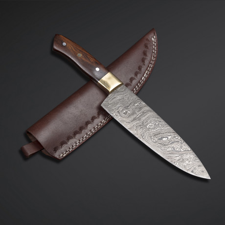 Rose Wood Chef Knife