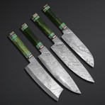 Chef Knives // Set of 4