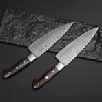 Rose Wood Chef Knives // Set of 2