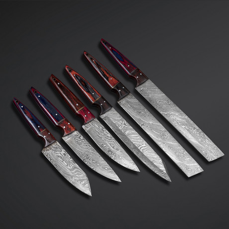 Chef Knives // Set of 6