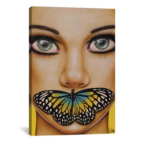 """Butterfly Thoughts // Scott Rohlfs (12""""W x 18""""H x 0.75""""D)"""