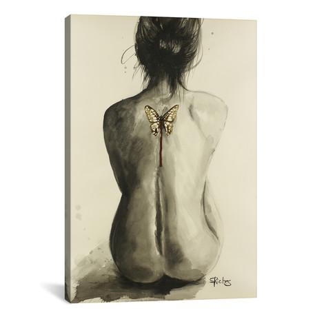 """Dead Wings // Sara Riches (12""""W x 18""""H x 0.75""""D)"""