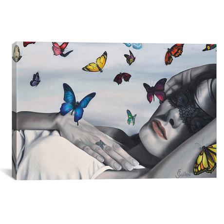 """Wings Of Soul // Johanne Cullen (18""""W x 12""""H x 0.75""""D)"""