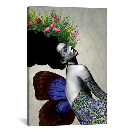 """Kate Flowers // Ana Paula Hoppe (12""""W x 18""""H x 0.75""""D)"""