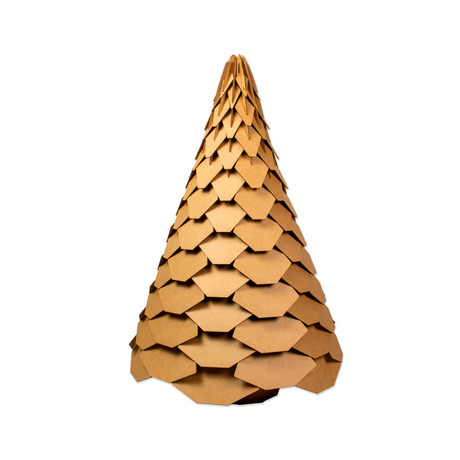 Bracht Holiday Tree // Brown (Small)