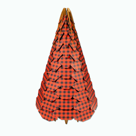 Bracht Holiday Tree // Red Flannel (Small)