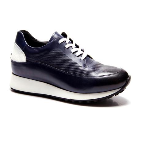 E. Goisto // Wes Sneaker // Dark Blue (Euro: 40)