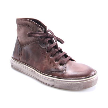 E. Goisto // Sneaker Boot // Brown (Euro: 40)