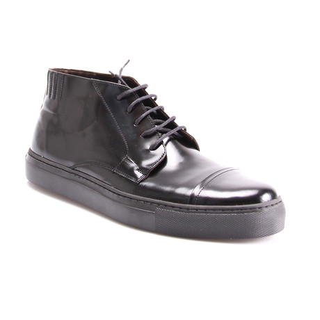 E. Goisto // Cap Toe Boot // Black (Euro: 40)