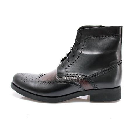 E. Goisto // Bouge Boot // Bordeaux + Black (Euro: 40)