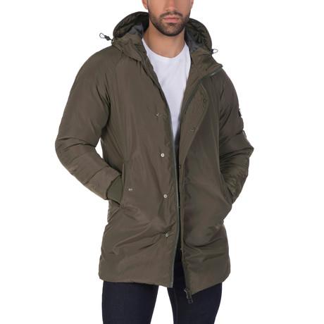 Raf Coat // Khaki (S)
