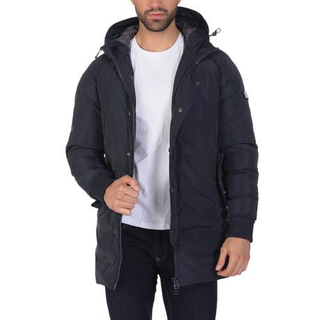 Chasen Coat // Navy (S)