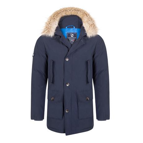 Windu Coat // Navy (S)