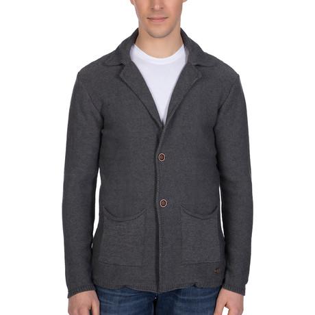 Simone Knitwear Jacket // Antracite (S)