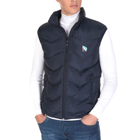 Manuel Vest // Navy (S)
