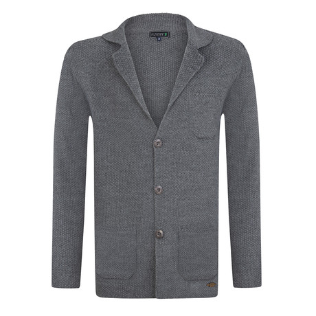 Undulation Cardigan // Gray Melange (S)
