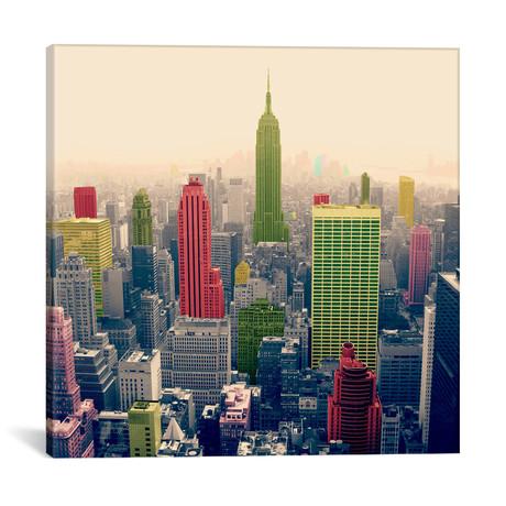 "New York City Pop 2 // Unknown Artist (12""W x 12""H x 0.75""D)"