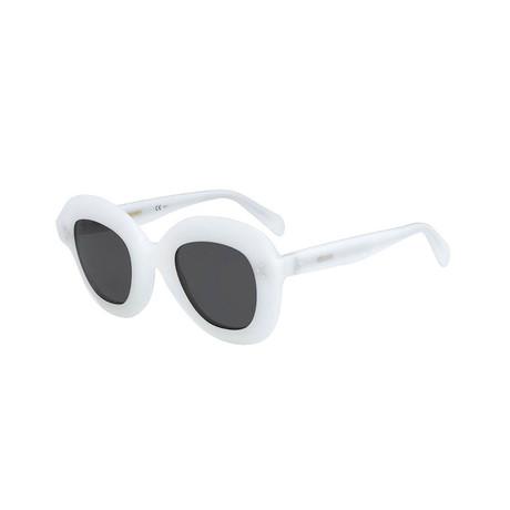 Celine // Women's Sunglasses // White + Gray