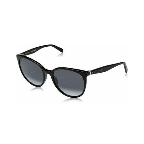 Celine // Women's Sunglasses // Black + Dark Gray Gradient