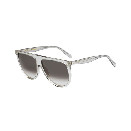 Celine // Women's Sunglasses // Gray + Brown Gradient