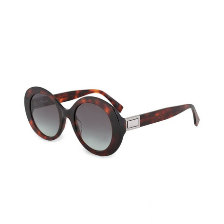 Fendi // Women's Sunglasses // Dark Havana + Gray Green