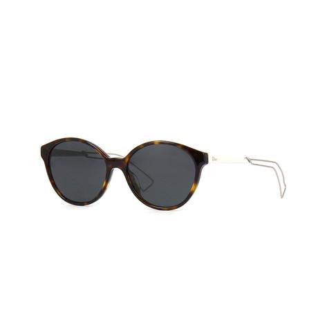 Dior // Women's Sunglasses // Havana + Silver Gray