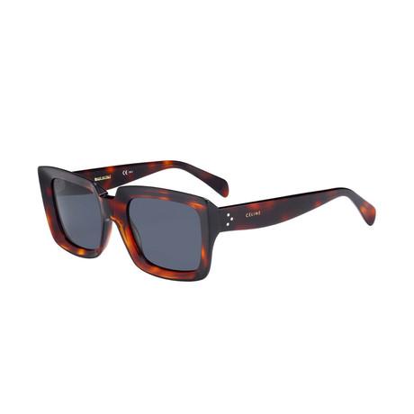 Celine // Women's Sunglasses // Dark Havana + Gray
