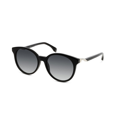 Fendi // Women's Sunglasses V3 // Black + Gray Gradient