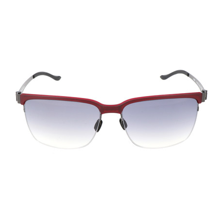 Men's M1039 Sunglasses // Red + Gunmetal