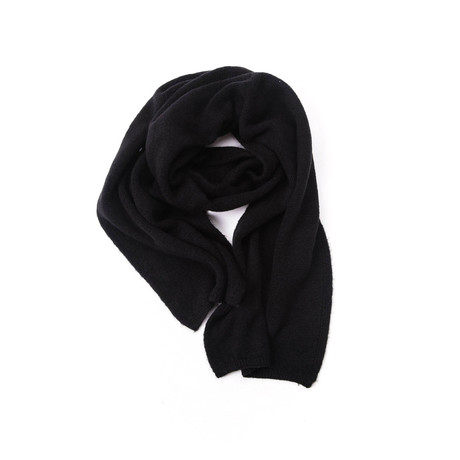Chace Wool Scarf // Black